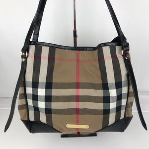 Burberry Bridle House Check Canterbury Tote
